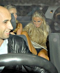 Katie Price sexy and funny upskirts